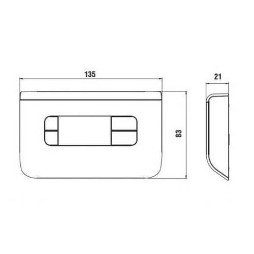 3s nuovo termostato ambiente ch115 ch116 ch117 fantini for Fantini cosmi ch115