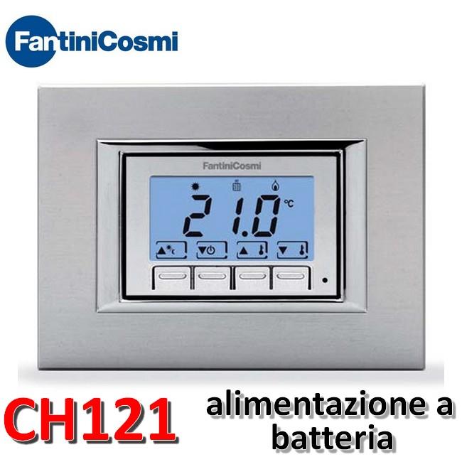 3s termostato ambiente da incasso ch121 fantini cosmi for Termostati fantini cosmi prezzi