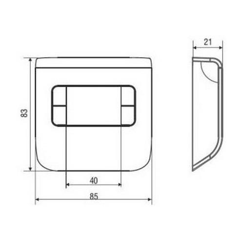 Termostati f on off ch110 termostato ambiente digitale for Fantini cosmi c57 prezzo