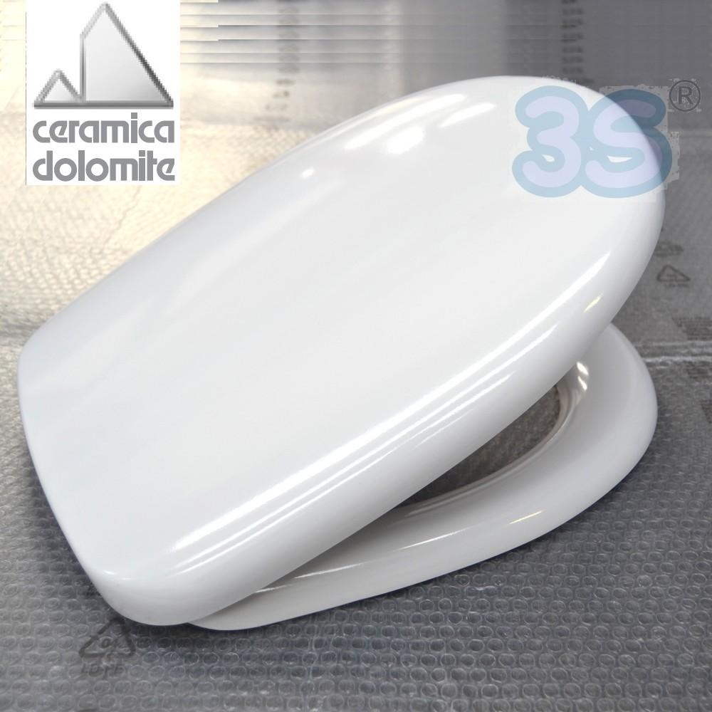 Modelli ceramica dolomite sedile originale per wc garda for Ceramica dolomite