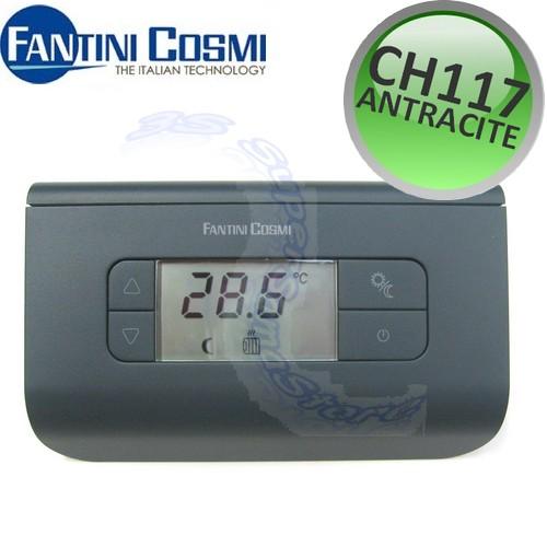 Termostato ambiente digitale a parete ch115 ch116 ch117 for Fantini cosmi ch115