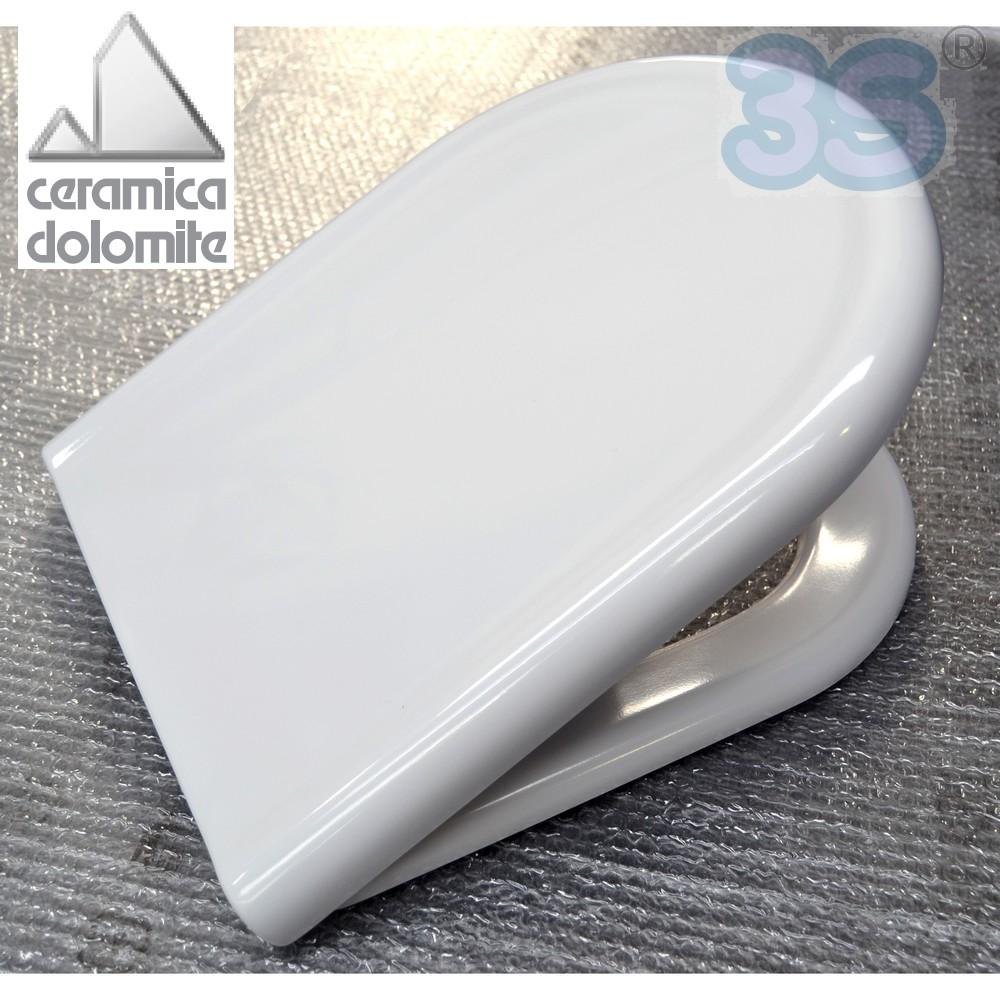 Modelli ceramica dolomite sedile originale per wc clodia for Sanitari dolomite