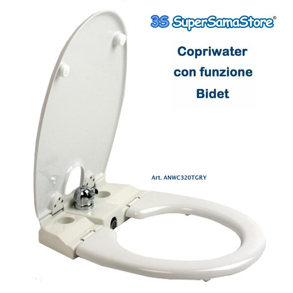3s Copriwater Con Bidet Sedile Con Funzione Bidet Incorporato Art 320tgry Ebay