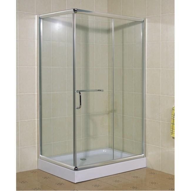 3s box cromo piatto doccia rettangolare 100x80 cm cristallo 5 mm trasparente ebay - Scatola sifonata bagno ...
