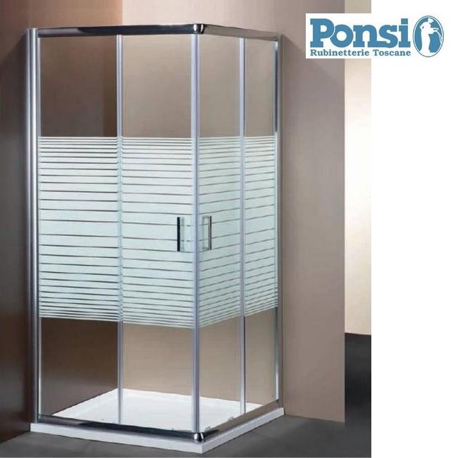 Box Doccia 70 90.Box Doccia Ponsi Box Doccia Rettangolare Con 2 Porte