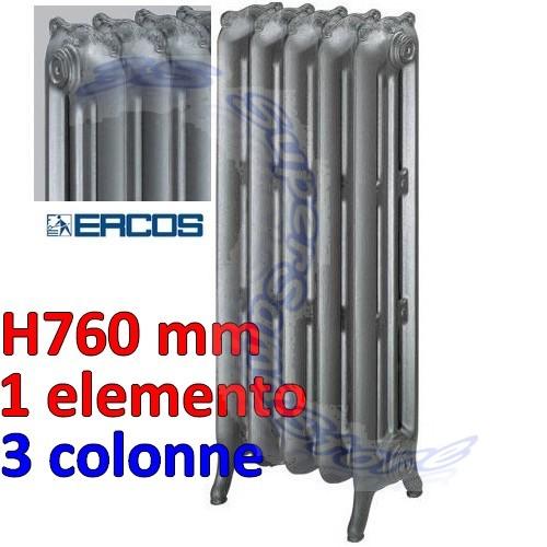 Lisci calorifero in ghisa liberty ercos liscio 3 for Radiatori in ghisa ercos
