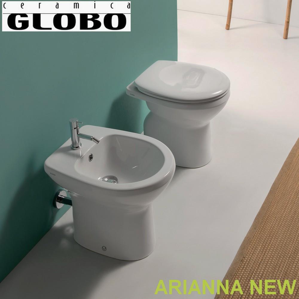 Serie arianna globo coppia di sanitari a terra arianna for Globo bagni
