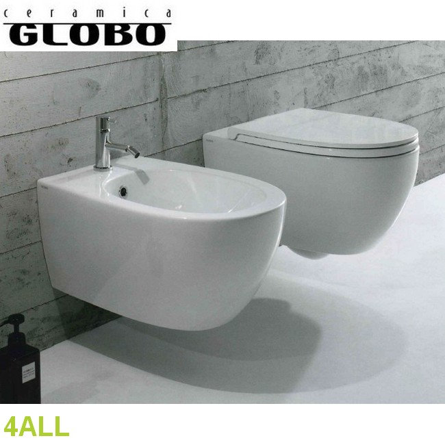4ALL - GLOBO : Coppia sanitari sospesi 4ALL - Ceramica Globo wc ...