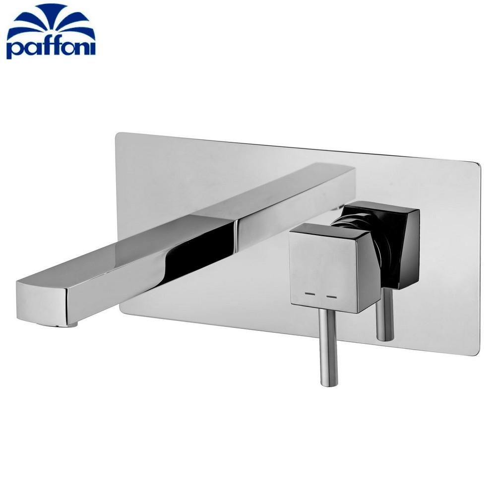 Level paffoni miscelatore lavabo incasso lea101cr 16 - Miscelatore a parete bagno ...