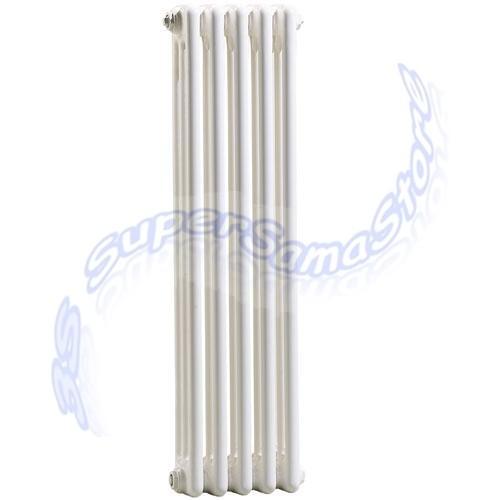 TUBOLARE H.600 mm : Radiatore tubolare bianco in acciaio 3 colonne ...