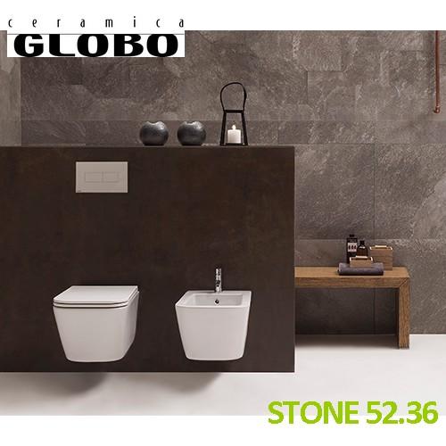 Serie STONE - GLOBO : Coppia sanitari sospesi STONE 52.36 - Ceramica ...