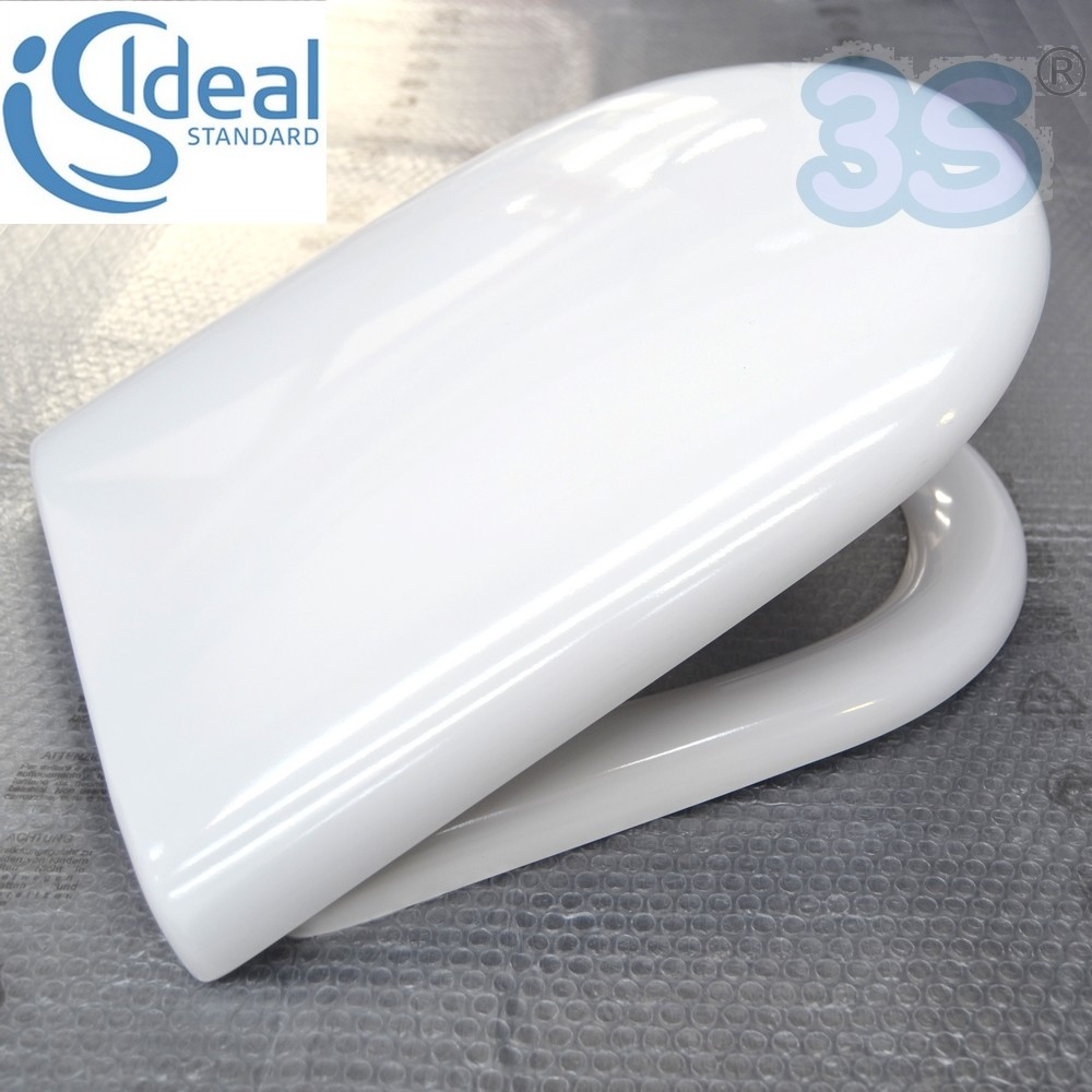 Ideal Standard Fiorile Sedile.3s Original Seat Ideal Standard Toilet Fiorile Suspended Thermoset T6293 Ebay