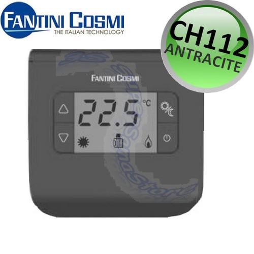 3s nuovo termostato ambiente digitale ch112 antracite for Termostato fantini cosmi ch110 istruzioni
