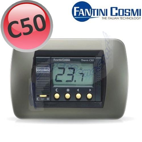 3s termostato ambiente da incasso digitale c50 fantini e for Fantini cosmi c50