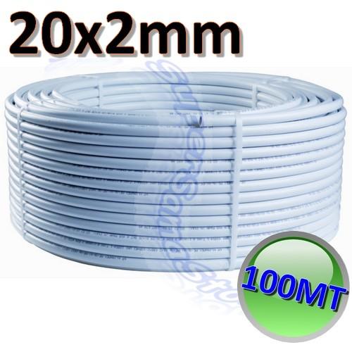 3s tubo rotolo 100 mt multistrato diametro 20 x spessore 2 mm per acqua bagno ebay - Diametro tubo multistrato per bagno ...