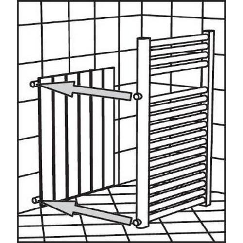 Interasse termoarredo affordable termoarredo ercos bianco for Ercos termosifoni