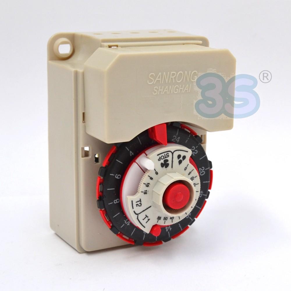 Schema Elettrico Per Temporizzatore : Termostati : temporizzatore elettromeccanico tipo bigatti per