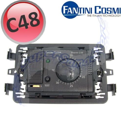 Termostati f on off c48 termostato ambiente a rotella for Fantini cosmi c48