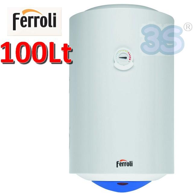 Scaldabagno Elettrico Verticale 100 Lt   Ferroli CALYPSO   E400B06A