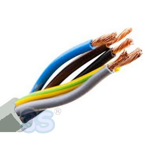 COMPONENTI ELETTRICHE   Cavo filo elettrico pentapolare FROR 3 - 5 X ... 43f090900753