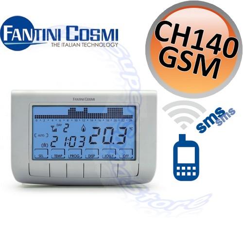 3s cronotermostato ch140 gsm2 fantini cosmi programazione