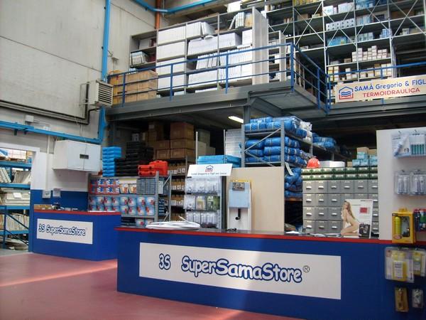 Punto vendita - Super Sama Store - Idraulica elettronica e ...