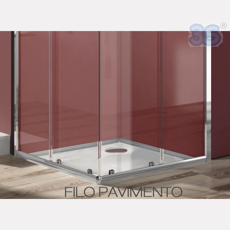 Piatti doccia in acrilico piatto doccia in acrilico - Installazione piatto doccia filo pavimento ...