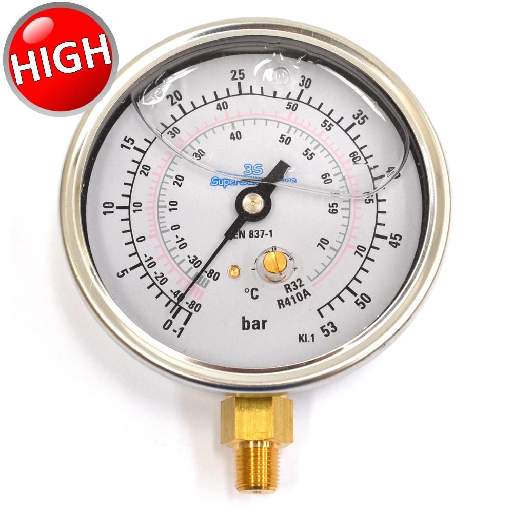 3s manometro alta pressione per gas refrigerante r32 r410a - Manometro in bagno di glicerina ...