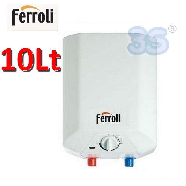 3s ferroli novo 10 lt scaldabagno elettrico scalda acqua - Scaldabagno sottolavello installazione ...