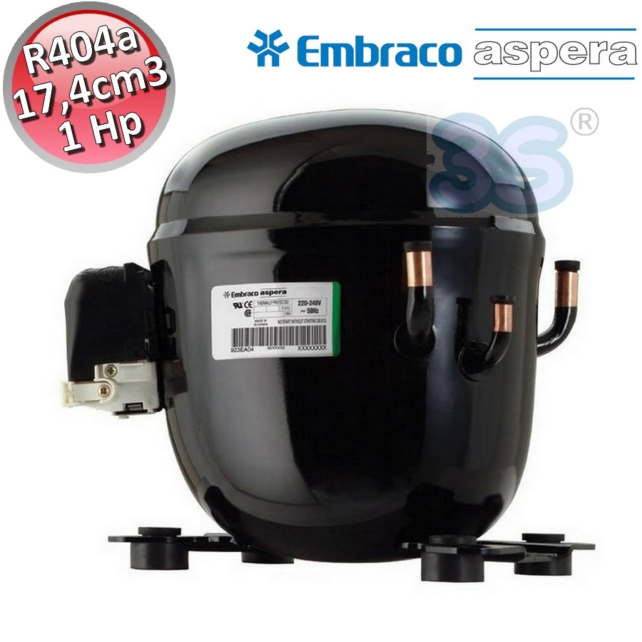 COMPRESSORE EMBRACO NJ9238GK R404a-R507 HBP 1,5 HP CELLE FRIGO BANCHI FRIGO