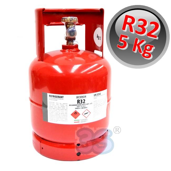 gas refrigerante bombola gas refrigerante r32 da 5 kg
