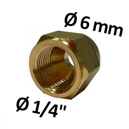 """in ottone per Refrigerante Linea-TUBO IN RAME 5//8/"""" UNF 10 mm RACCORDO a gomito 5//8/"""""""