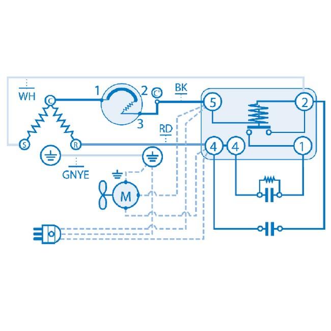 Schema Elettrico Frigo Whirlpool : Compressori per gas r a compressore
