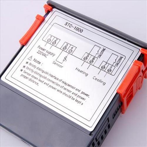 Termostati controlli temperatura controllore di for Temperatura acquario
