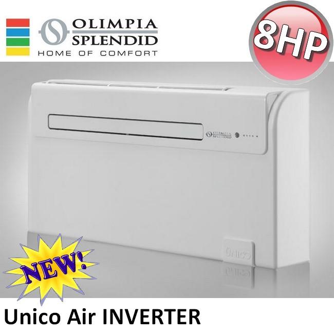 3s neu olimpia splendid unico air inverter 8 hp klimaanlage k hlen und heizung ebay. Black Bedroom Furniture Sets. Home Design Ideas