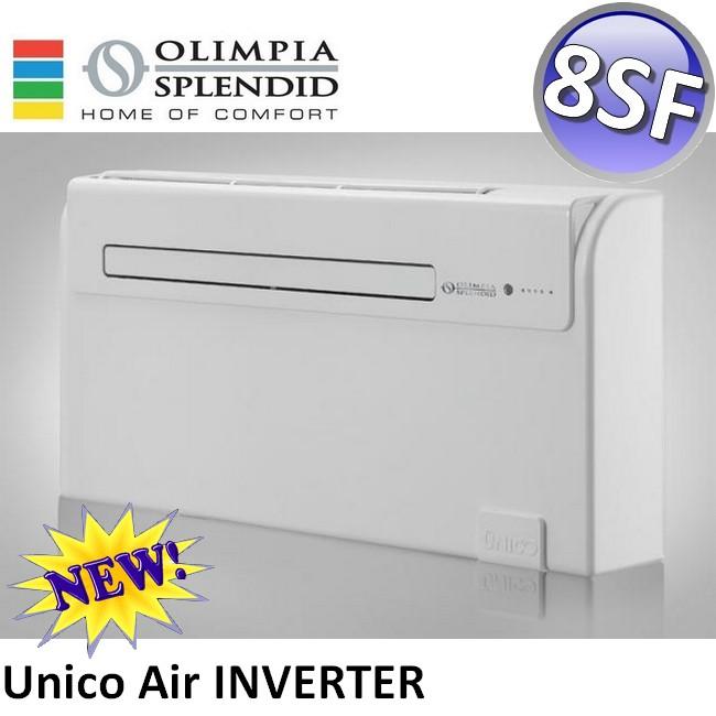 3s neu olimpia unico air inverter 8 sf 1 8 kw klimaanlage wand truhenklimager t ebay. Black Bedroom Furniture Sets. Home Design Ideas