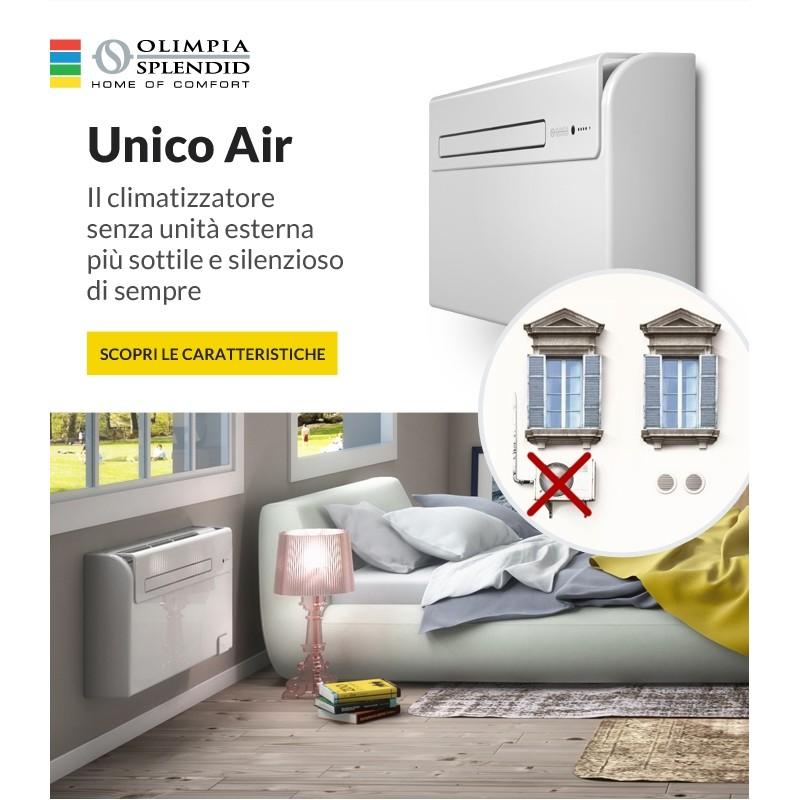 Senza unita 39 esterna condizionatore climatizzatore unico for Unico olimpia splendid prezzo