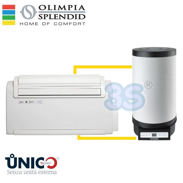 Olimpia splendid climatizzatore scaldacqua unico boiler for Unico olimpia splendid prezzo