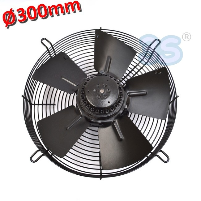 3s ventilatore ventola assiale premente 300 mm 90 w for Ventilatore refrigerante