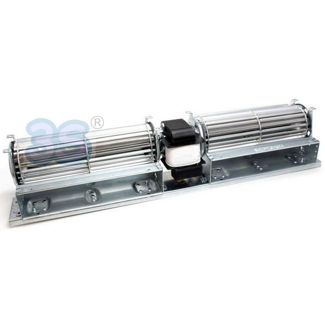 3s ventilatore ventola tangenziale doppio 25w ricambio for Ventilatore refrigerante